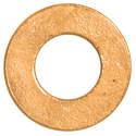 #6s Brass Flat Washer
