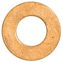 #8s Brass Flat Washer