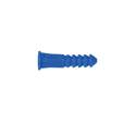 12-14-16 x 1-1/2-Inch Ribbed Plastic Wall Anchor With Screw 20-Pack