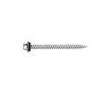 10 x 1-1/2-Inch Hex Washer Head Self-Piercing Screw With Steel Backed Neoprene Washer 200-Pack