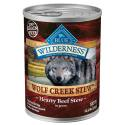 12-1/2-Oz. Wilderness Wolf Creek All Breeds Adult Beef Stew Dog Food