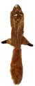 Mini Skinneeez 20-Inch Squirrel Dog Toy