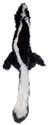 Mini Skinneeez 20-Inch Skunk Dog Toy