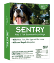 Sentry Flea & Tick Squeeze-On For Dogs 66+ Pounds