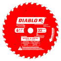 6-1/2-Inch X 32 Tooth Wood And Metal Carbide Saw Blade