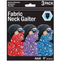 Assorted One-Size Polyester/Spandex Neck Gaiter
