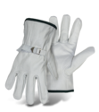 Medium Standard Grade Grain Cowhide Leather Driver Glove