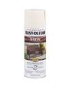12-Ounce Satin Shell White Spray Paint