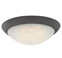 11-Inch Oil Rubbed Bronze LED Flush Mount Ceiling Fixture