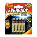 AAA Gold Alkaline Battery 8-Pack