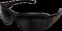 Brazeau Torque Matte Black Frame /Smoke Lens Safety Glasses