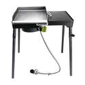 1-Burner Patio Stove With Griddle Tapper