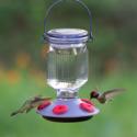 16-Ounce Lavender Field Top-Fill Glass Hummingbird Feeder