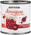 8-Fl. Oz. Glitter Red Imagine Craft And Hobby Glitter Paint
