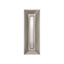 Nickel Finished Wired Push Button Doorbell