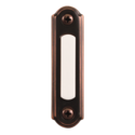 Oil Rubbed Bronze Wired Push Button Doorbell