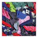 T-Shirt Knit Rag, Cotton, 50 Pound, 15 x 15 Inch, Assorted Colors