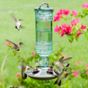 Alternate Image for Perky Pet 8108-2 Antique Bottle Glass Hummingbird Feeder
