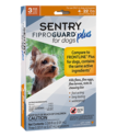 FiproGuard Plus Flea And Tick Treatment, Dogs 4-22 Pounds, 3-Pack
