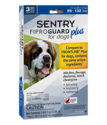 FiproGuard Plus Flea And Tick Treatment For Dogs 89-132 Pounds, 3-Pack