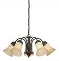 Trinity II Oil Rubbed Bronze 5-Light Indoor Chandelier