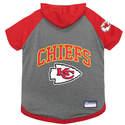 Kansas City Chiefs Pet Hoodie Tee, Large