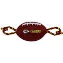 Kansas City Chiefs Nylon Football Dog Toy