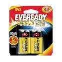 Energizer A522bp-2 Alkaline Battery, 9 V Battery, Zinc, Manganese Dioxide, 9 V Battery