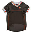 Cleveland Browns Medium Mesh Pet Jersey