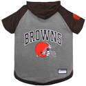 Cleveland Browns Medium Pet Hoodie Tee