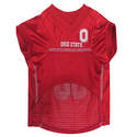 Ohio State Buckeyes Large Mesh Pet Jersey