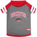 Ohio State Buckeyes Small Pet Hoodie Tee