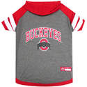 Ohio State Buckeyes Medium Pet Hoodie Tee