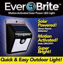 Everbrite Motion-Activated Solar Power LED Light