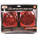 LED Trailer Light Kit With Clip Type Spring Design