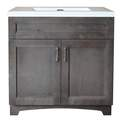 30-Inch Gray Hartford Vanity And Top Combo