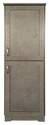 21 x 21 x 60-Inch Silverton Linen Cabinet
