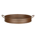 16-Inch Copper Finish Tray/Planter