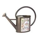 1-Gallon Black Vintage Seed Watering Can