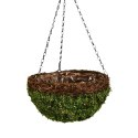 14 in Moss & Vine Hanging Basket