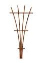 48-Inch Brown Wood Fan Trellis