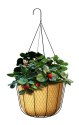 12-Inch Rustic Farmhouse Hanging Basket Planter
