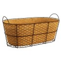 16-Inch Rustic Oval Bushel Basket