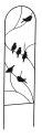 40-Inch Black Perching Birds Pot Trellis
