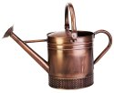 2-Gallon Embossed Brushed Copper Watering Can