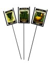 3-Piece Seed Pack Plant Markers