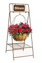 40-Inch Rustic Basket Hanger