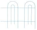32-Inch X 8-Foot Folding Fence