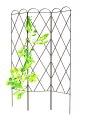 60-Inch 3-Panel Expandable Rustic Trellis
