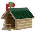 Lake & Cabin Mason Bee Shelter